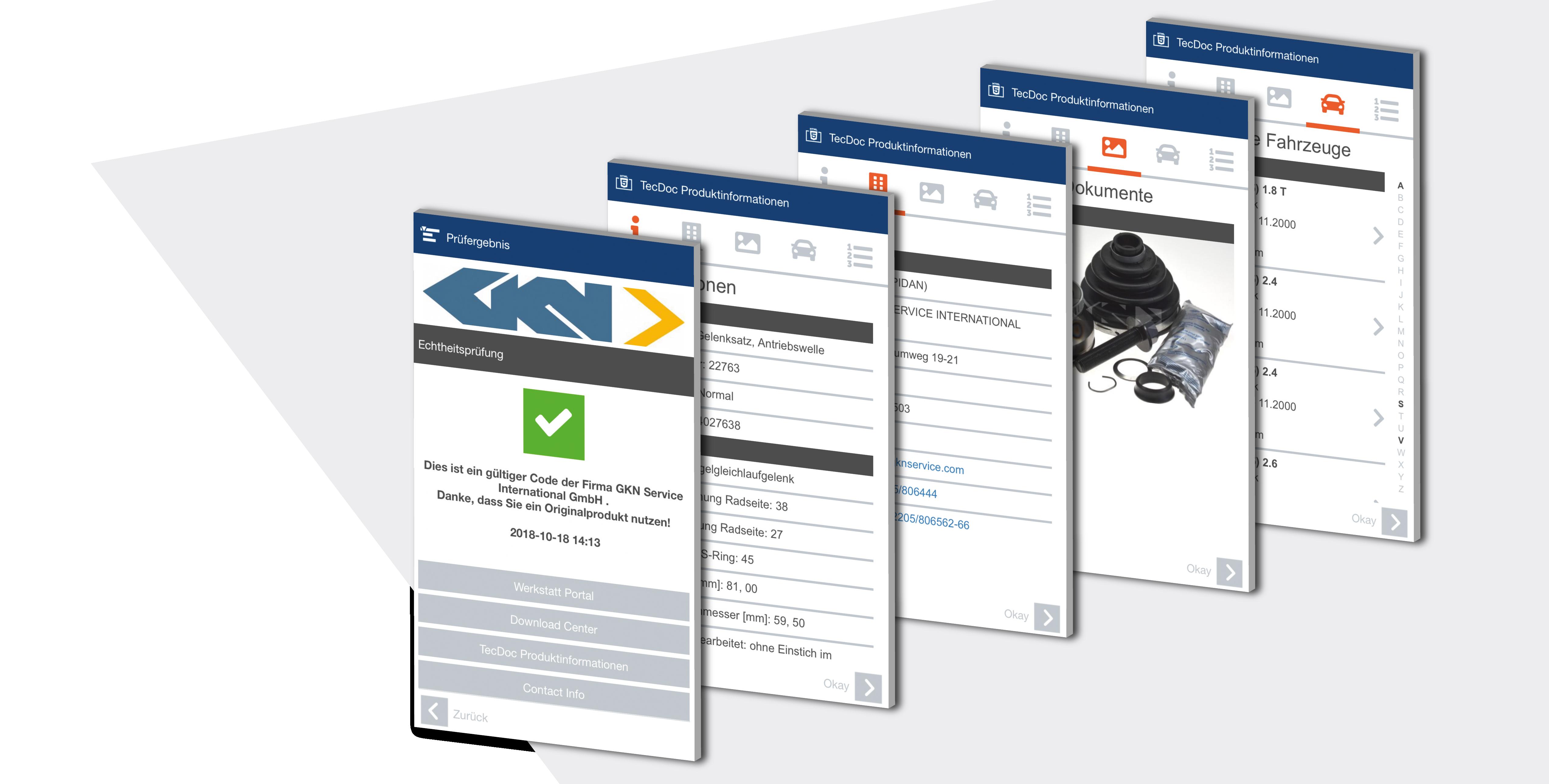 TecDoc Ersatzteilinformationen als Mehrwertdienst